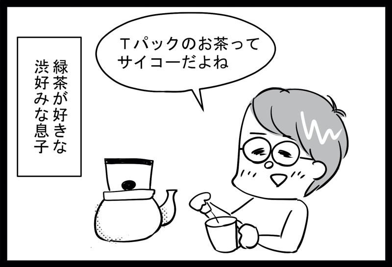 緑茶Tパック